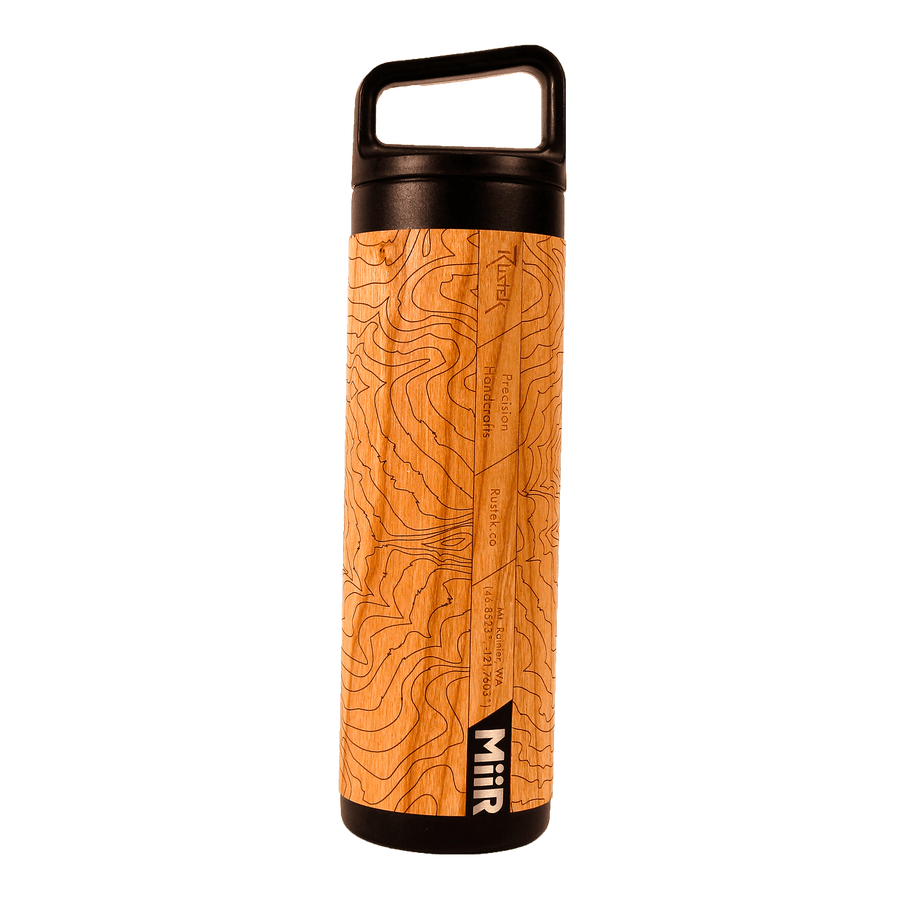 Mt. Rainier Topo 20oz Wide Mouth Bottle
