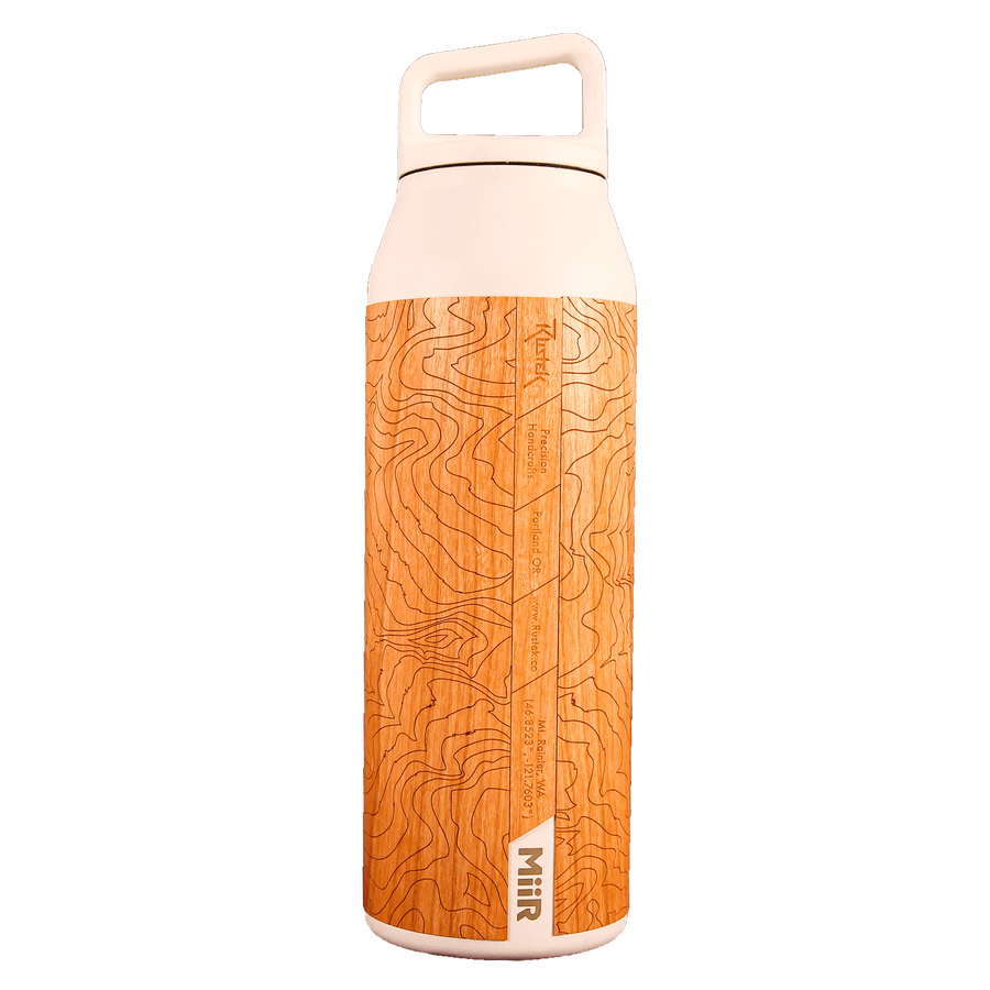 Mt. Rainier Topo 42oz Wide Mouth Bottle