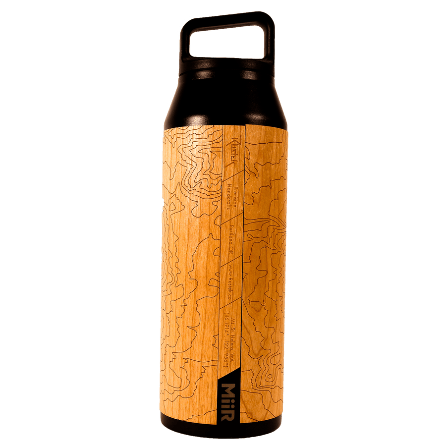 Mt. St. Helens Topo 42oz Wide Mouth Bottle
