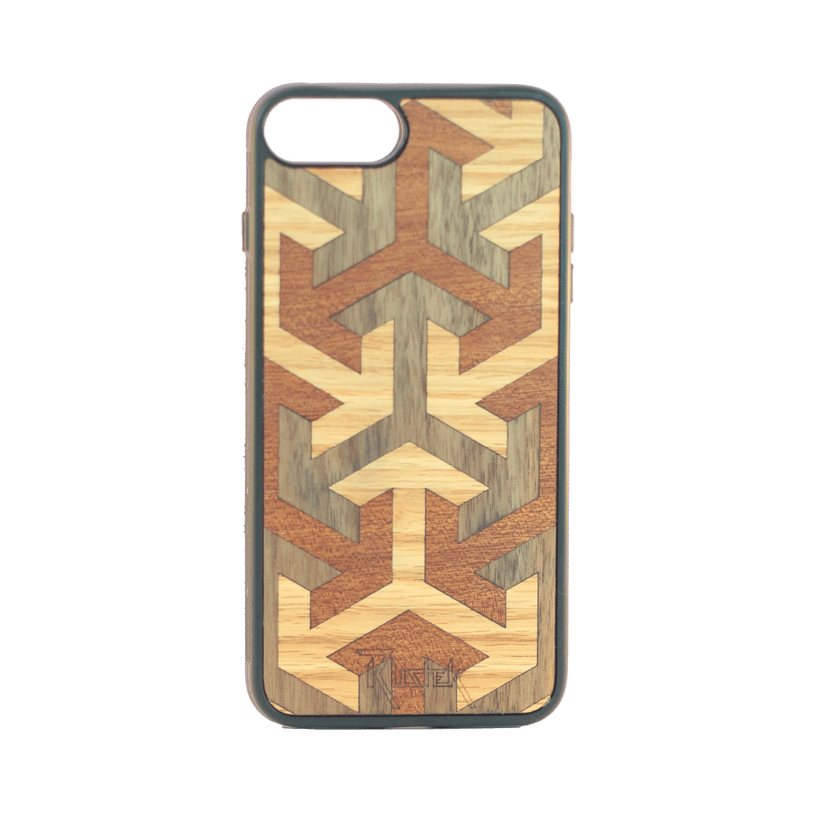 Axis Wood Inlay iPhone 7+/8+ Case