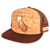 California Treeline Inlay Trucker Cap - Rustek