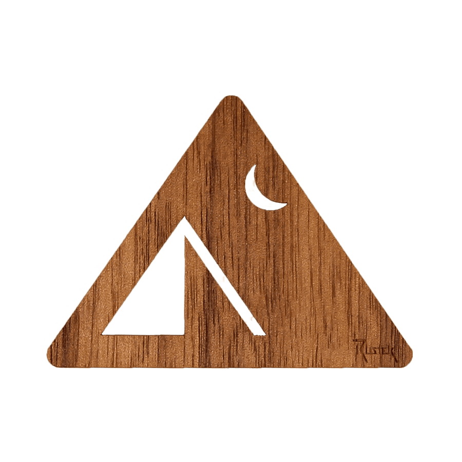 Camp Wood Sticker