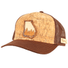 Georgia Treeline Inlay Trucker Cap