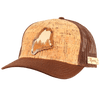 Maine Treeline Inlay Trucker Cap