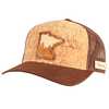 Minnesota Treeline Inlay Trucker Cap