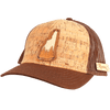 New Hampshire Treeline Inlay Trucker Cap