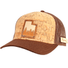 Utah Treeline Inlay Trucker Cap