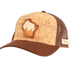 Wisconsin Treeline Inlay Trucker Cap
