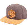 North Coast Cork Brim Snapback - Rustek