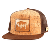 Wyoming Treeline Inlay Trucker Cap