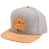 Sea to Sky Cork Brim Snapback - Rustek
