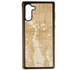 PDX Map Engraved Samsung Galaxy Note 10 Case - Rustek