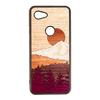 Timber Line Inlay Google Pixel 3a Case - Rustek