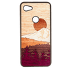 Timber Line Inlay Google Pixel 3a XL Case - Rustek