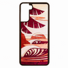 Sun Sets West Wood Inlay Samsung Galaxy S21+ Case