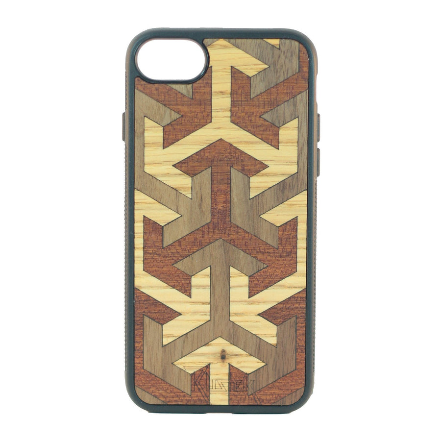 Rustek Axis Inlay Phone Case