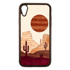 Sunset Mesa Inlay iPhone XR Case - Rustek