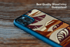 Sun Sets West Inlay iPhone XR Case