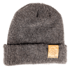 Sunset Mountain 100% Merino Wool + Cork Beanie
