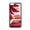 Sun Sets West Inlay iPhone 6+ Case - Rustek