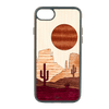 Sunset Mesa Inlay iPhone SE Case - Rustek