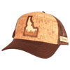 Idaho Treeline Inlay Trucker Cap - Rustek