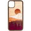 Timber Line Inlay iPhone 11 Case