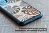 Jungle Flora Inlay iPhone XR Case