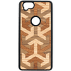 Axis Wood Inlay Google Pixel 2 Case - Rustek