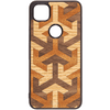 Axis Wood Inlay Google Pixel 4a Case - Rustek