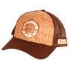 Rose Inlay Trucker Cap