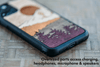 Timber Line Inlay Samsung S10+ Case
