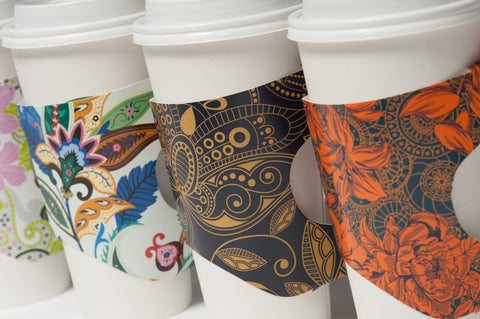Reusable Coffee Sleeve - Mugshot Sleeves