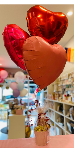 Mini valentines Gift Set Heat balloon Brisbane