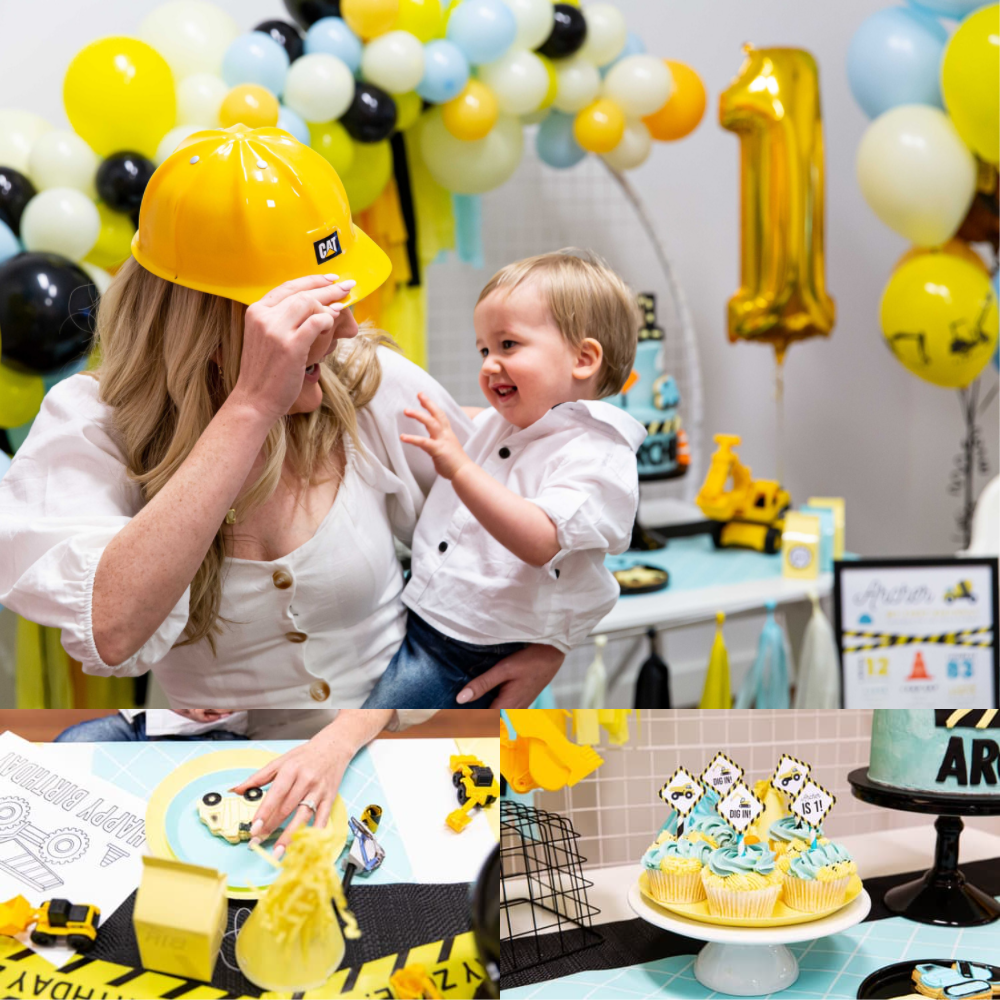 tons of fun construction birthday party
