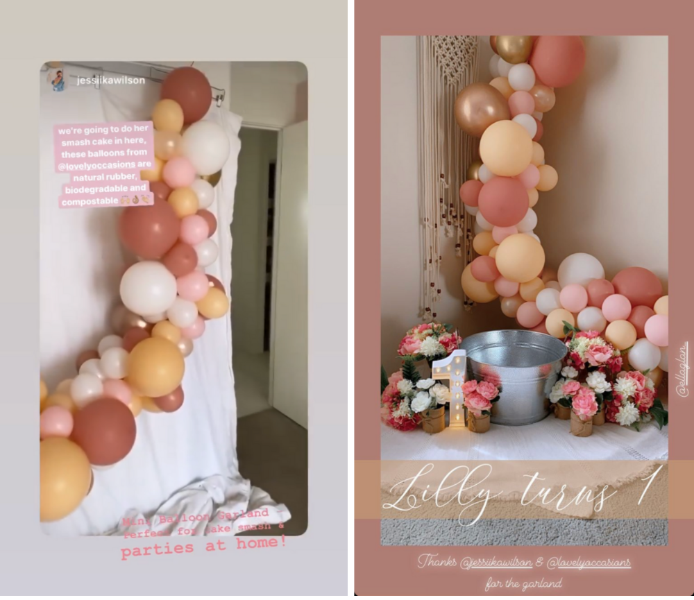 ways to reuse your balloon garland
