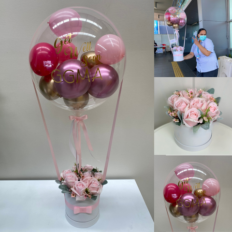 Personalised floral gifts balloons brisbane