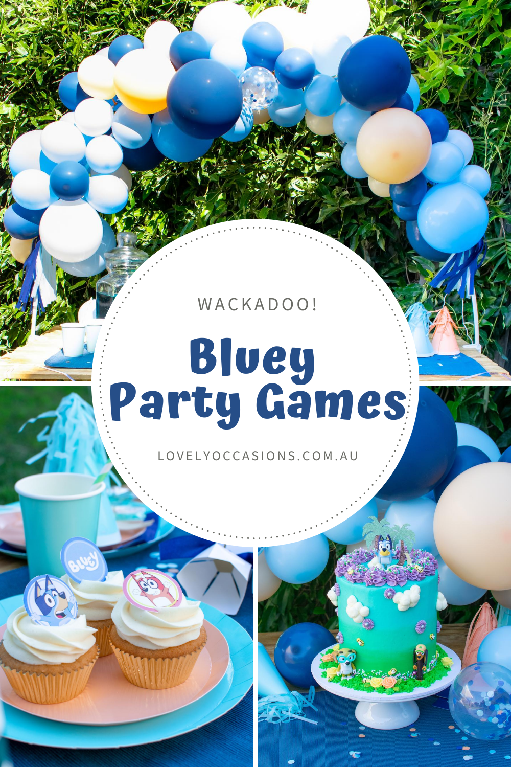 Bluey Party Games
