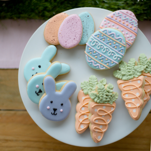 Easter Cookies Picnic Lovely Occasions