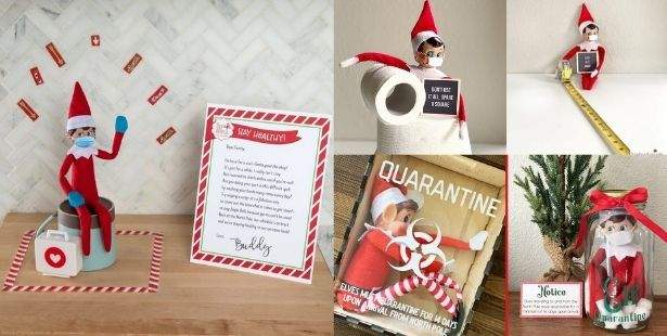 elf on the shelf in quarantine Australia