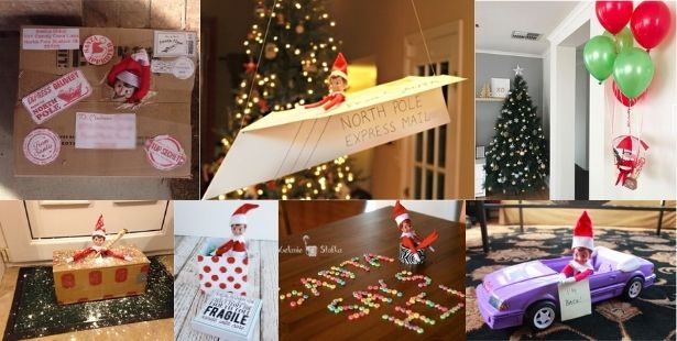 Elf on the Shelf Arrival Ideas Australia
