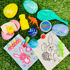 filled easter egg hunt kit