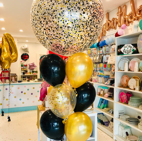 Jumbo Confetti Balloon Bouquet