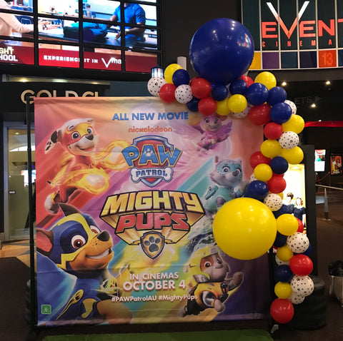 Paw Patrol Balloon Garland Brisbane