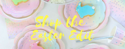 Shop the Easter Edit Partyware tables cape
