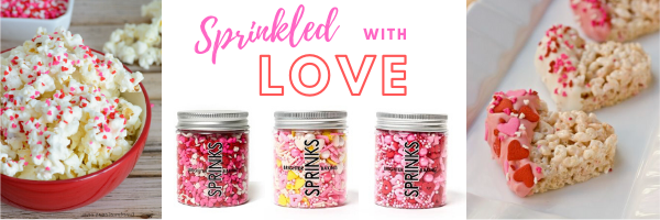 valentines sprinkles no-bake receipes
