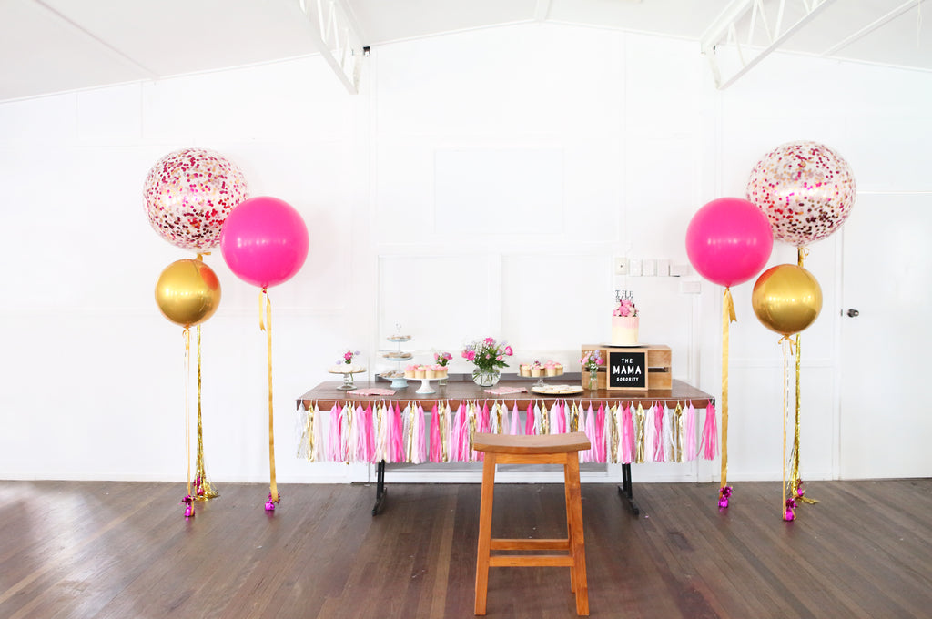 mama sorority workshop balloons styling