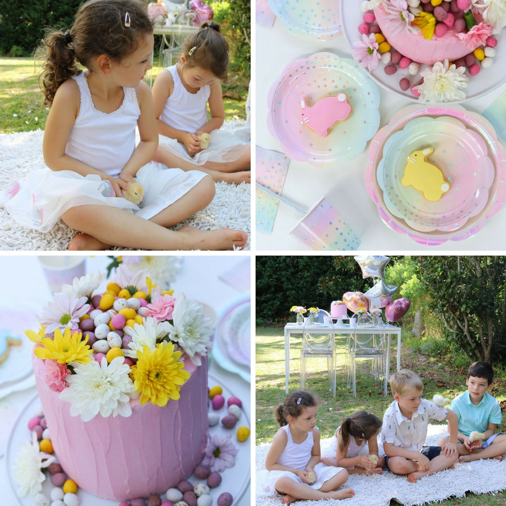 pastel easter party illume partyware
