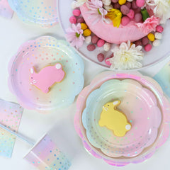 Pastel iridescent Easter party