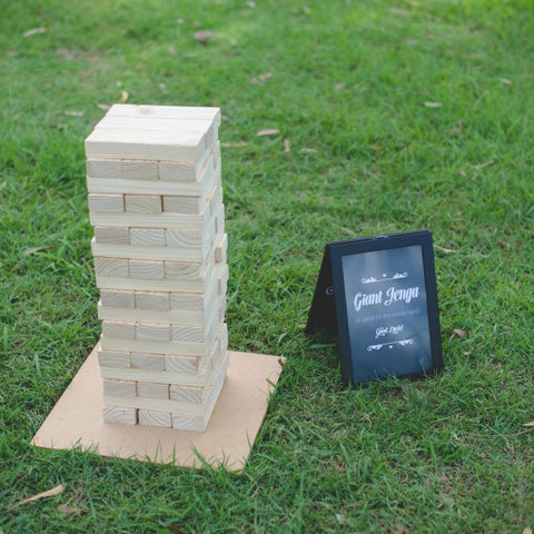 Giant Jenga Lawn Games